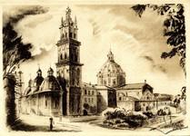 Успенская церковь, рисунок